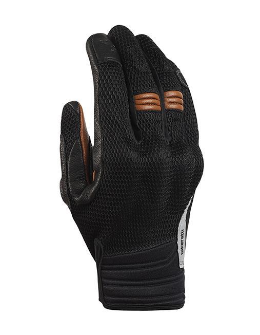 Bikeratti Vind Summer Black Brown Riding Gloves 1