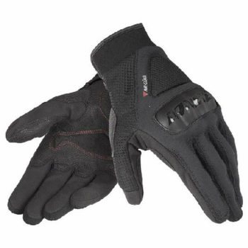 Dainese Air Gujia Black Riding Gloves