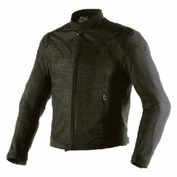 Dainese Airflux D1 Textile Black High Rise Riding Jacket
