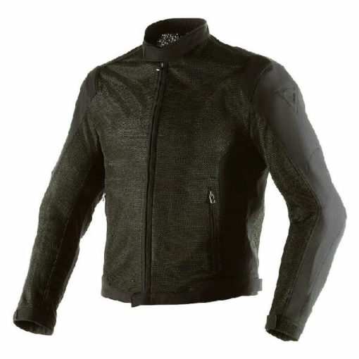 Dainese Airflux D1 Textile Black High Rise Riding Jacket