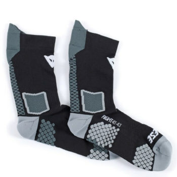Dainese D Core Mid Black Anthracite Sock