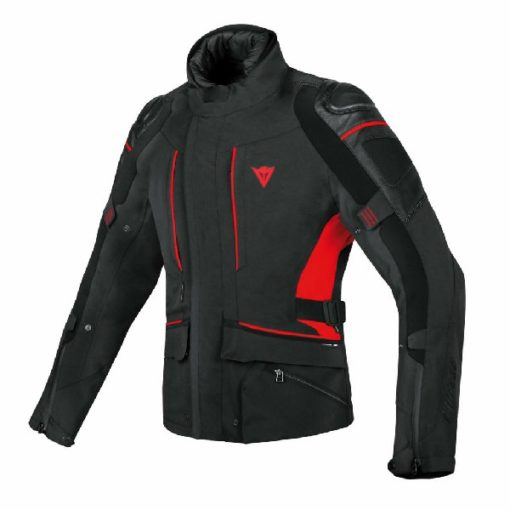 Dainese D Cyclone Goretex Black Red Riding Jacket