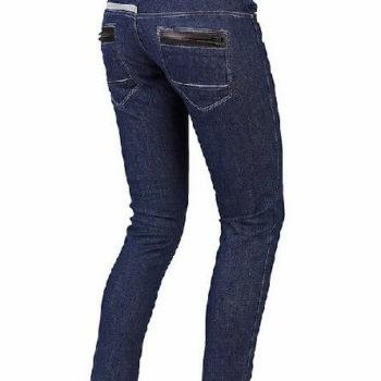 Dainese D19 4k Lady Denim Blue Riding Pants 1