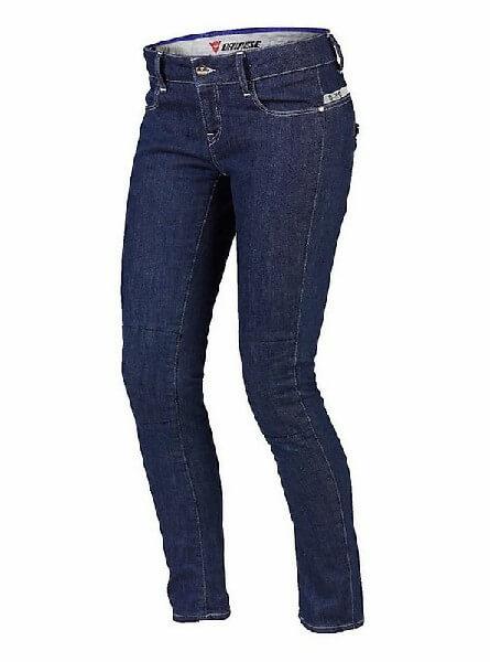 Dainese D19 4k Lady Denim Blue Riding Pants