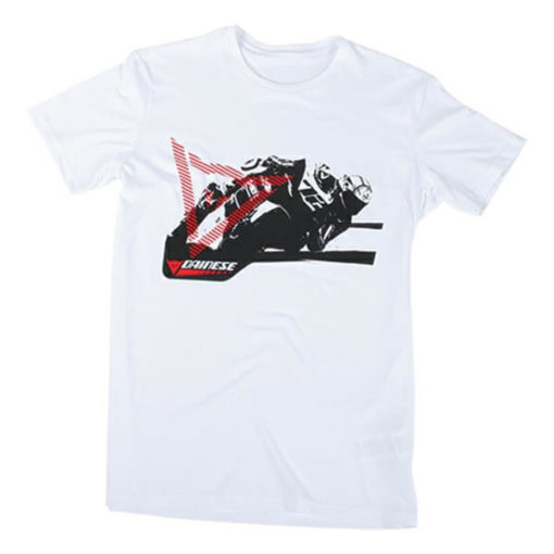 Dainese Gripping White T Shirt