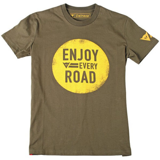 Dainese Njoy Army Green T Shirt