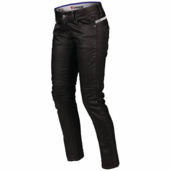Dainese P D19 Lady Denim Black Riding Pants