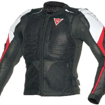 Dainese Sports Guard Black White Riding Jacket