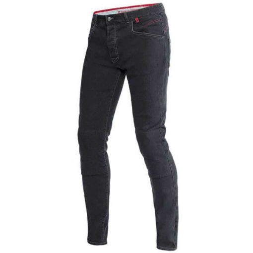 Dainese Sunville Skinny Black Denim Riding Pants