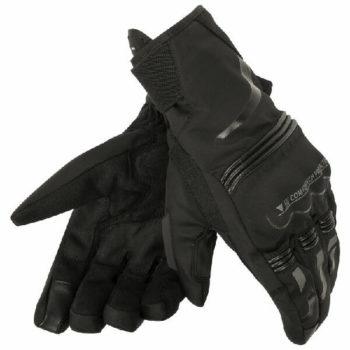 Dainese Tempest Unisex D Dry Short Black Riding Gloves
