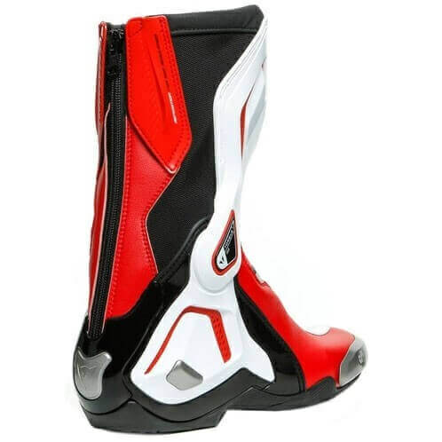 Dainese Torque 3 Out Air Black White Lava Red Riding Boots 1