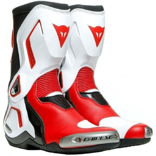Dainese Torque 3 Out Air Black White Lava Red Riding Boots