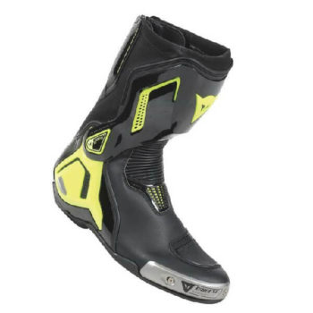 Dainese Torque D1 Out Air Black Fluorescent Yellow Riding Boots
