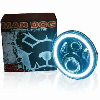 Maddog FR60 Orange blue Headlight 1