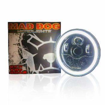 Maddog FR70 Orange blue Headlight 1