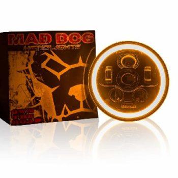 Maddog FR70 Orange blue Headlight 2