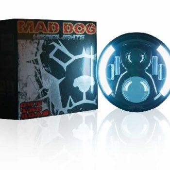 Maddog HR60 Orange blue Headlight 1