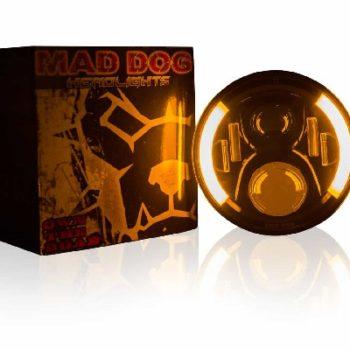 Maddog HR60 Orange blue Headlight 2