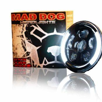 Maddog HR70 Orange blue Headlight 1