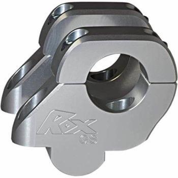 Rox Barback Risers 38mm Rise 25mm Back 32mm Handlebar Anodized Aluminium