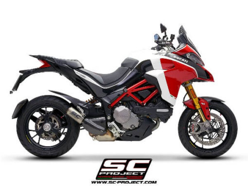 SC Project CRT D30 36T Slip on Titanium Exhaust Ducati Multistrada 1260 3