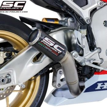 SC Project CRT H15 HT36C Slip On Carbon Fiber Exhaust Honda CBR 1000RR 1