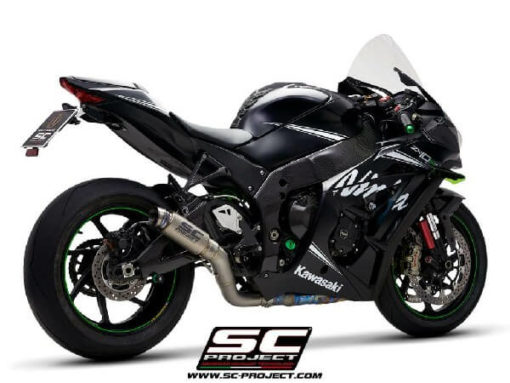 SC Project GP70R K22 70T Titanium Slip on Exhaust for Ninja ZX10R 2