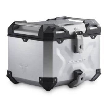 SW Motech TraX ADV Top Case Silver
