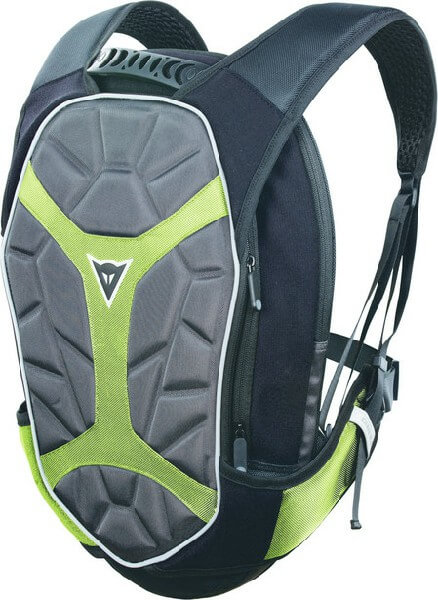 Dainese D Exchange Black Anthracite Fluorescent Yellow Large Backpack