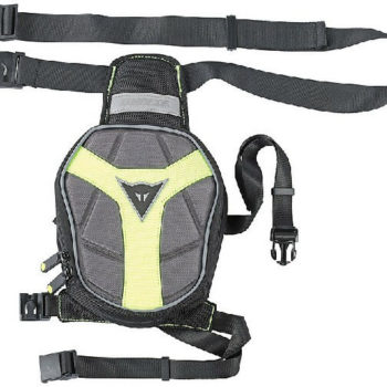 Dainese D Exchange Leg Black Anthracite Fluorescent Yellow Bag