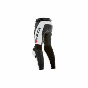 Dainese Delta Pro C2 Perforated Black White Leather Riding Pant 2020 A