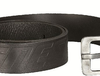 Dainese New Black Leather Belt 105