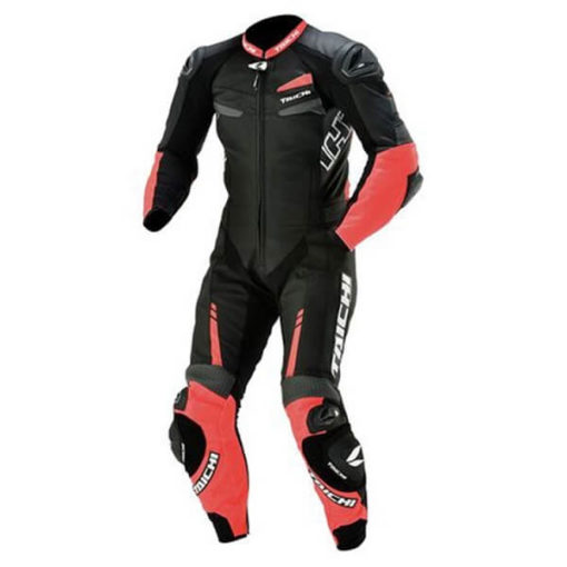 RS TAICHI GP WRX R305 RACING NEON RED FULL SUIT