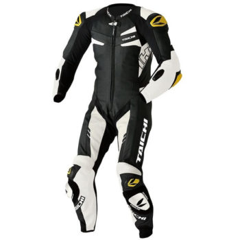 RS TAICHI GP WRX R306 RACING BLACK WHITE FULL SUIT