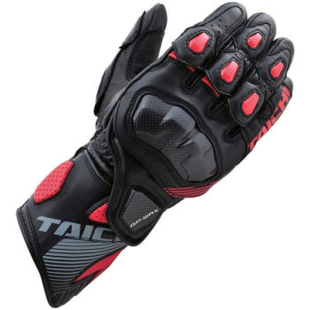 RS TAICHI GP WRX RACING BLACK RED GLOVES