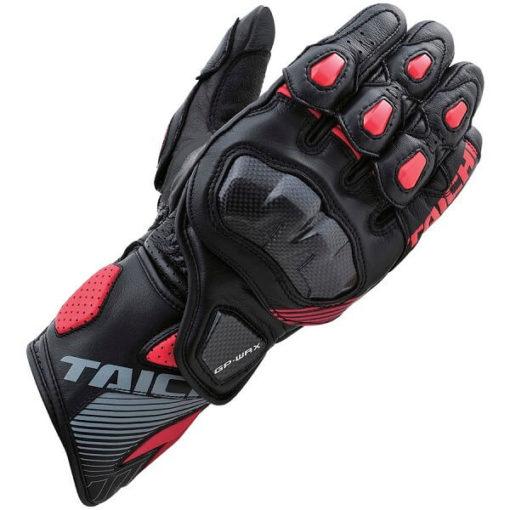 RS TAICHI GP WRX RACING BLACK RED GLOVES