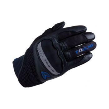 RS TAICHI SCOUT MESH BLACK BLUE GLOVES
