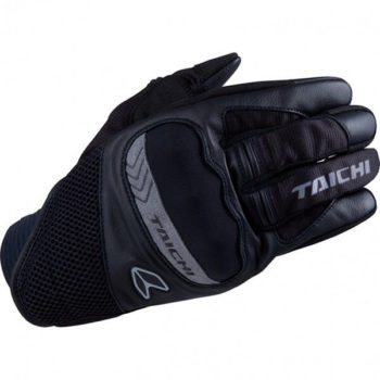 RS TAICHI SCOUT MESH BLACK GLOVES