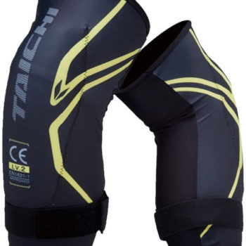 RS TAICHI STEALTH CE LV2 BLACK YELLOW KNEEGUARD