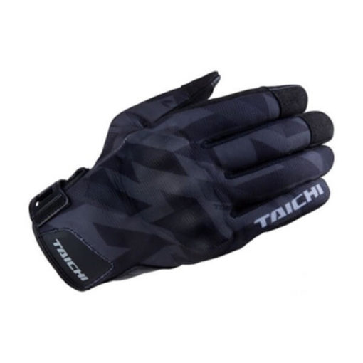 RS TAICHI URBAN AIR SLASH BLACK GLOVES