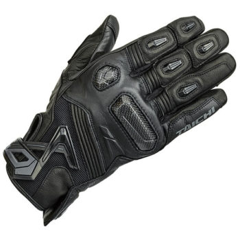 RS Taichi Raptor Leather Black Gloves