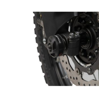 SW Motech Front Fork Sliders for Triumph Tiger 800 new 1