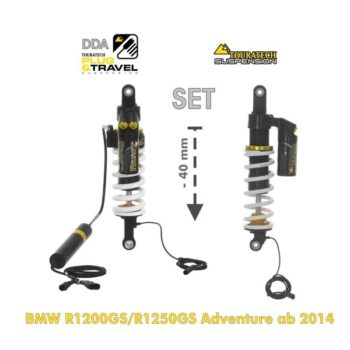 Touratech 40 mm plug and Travel Lowering Suspension Set For BMW R1200 GS Adventure R1250 GS Adventure 1