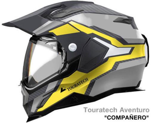 Touratech Aventuro Carbon Companero Helmet 1