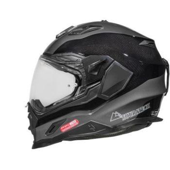 Touratech Black Aventuro Carbon 2 Duel Sport Helmet 2