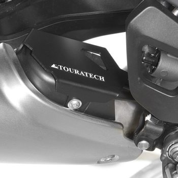 Touratech Black Exhaust Flap Protector For BMW 2