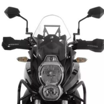 Touratech Black Hand Protector For Kawasaki Versys 650 1
