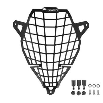 Touratech Black Headlight Protector For Suzuki V Storm 650 1000