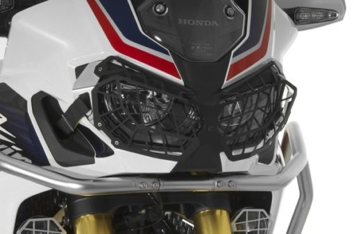 Touratech Black Headlight Protector With Quick Release For Honda CRF1000L Africa Twin 2