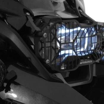 Touratech Black LED Headlight Protector With Quick Release For BMW 2